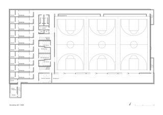 Grundriss UG Neubau Sporthalle Arbon von keiserwerk ag