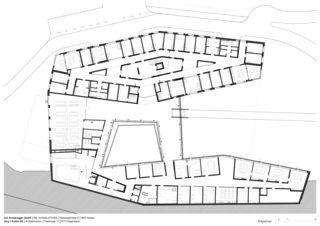 Rez-de-chaussée Neubau Wohnheim Sonne Rehetobel AR de Dipl.Architekt ETH/SIA<br/>