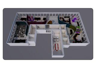 AXONOMETRIE SIX Incubator F10 von Daluz Gonzalez & Cajos Architekten AG