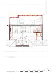 Grundriss DG Wohnhaus Apollostrasse  von Andreas Meier Architekt