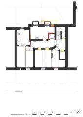 Grundriss UG Wohnhaus Apollostrasse  von Andreas Meier Architekt