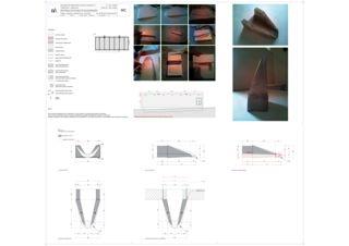 Plan détaillé de la gargouille Magazzino und Atelier Miriam Cahn de Atelier 67<br/>