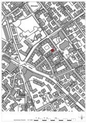 Situation 1:2000 Wohnhaus Apollostrasse  von Andreas Meier Architekt