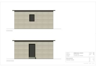 Façades 1:25 INTEGRO PAVILLON - KOSTENGÜNSTIGE FLÜCHTLINGSUNTERKUNFT de 3C Architektur GmbH