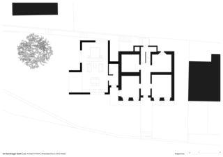 Erdgeschoss Erweiterung Bürgerhaus von Dipl.Architekt ETH/SIA<br/>