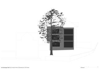 Südfassade Erweiterung Bürgerhaus von Dipl.Architekt ETH/SIA<br/>