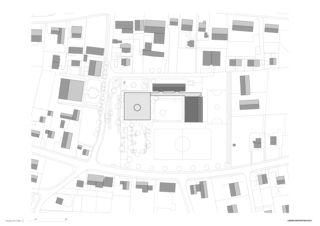 situation Primarschule Kappel de Lorenz Architekten