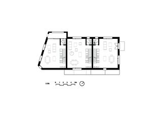 Deuxième étage Umbau und Aufstockung Wohn- und Gewerbegebäude Paradiesstrasse de Bischof Föhn Architekten ETH SIA
