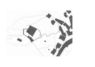 Lageplan Erweiterung Museum Schloss Werdenberg von bbk Architekten AG