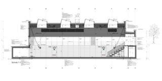 Detailschnitt Neubau Sporthalle Arbon von keiserwerk ag