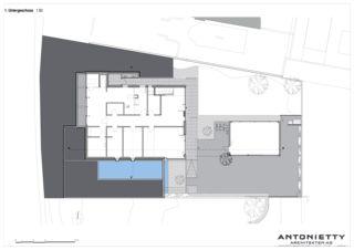 Untergeschoss Villa in Risch von Dipl. Architekten FH/SIA<br/>