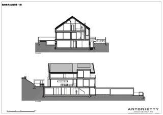 Schnitte Villa in Risch von Dipl. Architekten FH/SIA<br/>