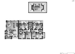 Gartenstadt 1er étage Restaurant mit Wohnungen de Architektur Rolf Stalder AG