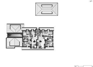 Gartenstadt étage mansardé 1 Restaurant mit Wohnungen de Architektur Rolf Stalder AG