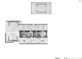 Gartenstadt étage mansardé 2 Restaurant mit Wohnungen de Architektur Rolf Stalder AG