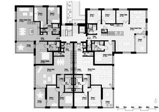 Rebberg Obergeschoss Neubau Mehrfamilienhäuser am Rebberg von Architektur Rolf Stalder AG