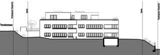 Façade ouest Neubau Mehrfamilienhäuser am Rebberg de Architektur Rolf Stalder AG