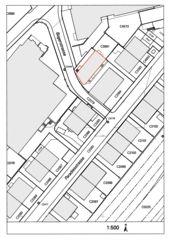 Plan de cadastre Umbau und Aufstockung Wohn- und Gewerbegebäude Paradiesstrasse de Bischof Föhn Architekten ETH SIA