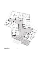 Erdgeschoss Alterszentrum Obere Mühle Lenzburg von Oliv Brunner Volk Architekten GmbH