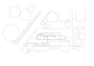 Plan de situation Fauvette de Nay Montadon Architectes ETHZ EPFL SIA