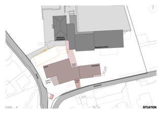 Situation Schulhauserweiterung Löffelmatt von BAUREAG Architekten AG