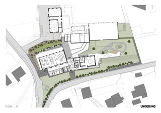 Umgebung Schulhauserweiterung Löffelmatt von BAUREAG Architekten AG
