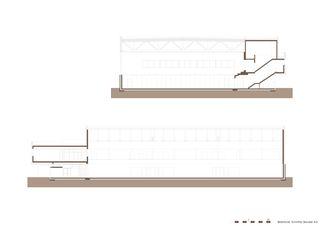 Schnitte Dreifachsporthalle Bildstöckli von Bandel AG I Architekten / og-architektur + a.jung