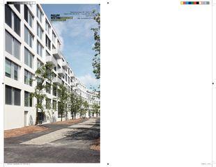 Projektbatt edendrei Wohnüberbauung edendrei von Philipp Wieting - Werknetz Architektur