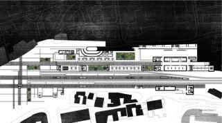 LOC_GR_E0 Bahnhof Locarno - Kongresszentrum | Museum | Markt von