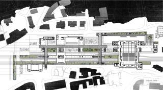LOC_GR_E1 Bahnhof Locarno - Kongresszentrum | Museum | Markt von