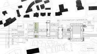 LOC_GR_E3 Bahnhof Locarno - Kongresszentrum | Museum | Markt von
