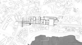 LOC_LAGEPLAN02 Bahnhof Locarno - Kongresszentrum | Museum | Markt von