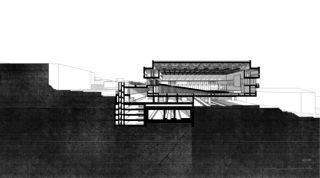 LOC_SCHNITT02 Bahnhof Locarno - Kongresszentrum | Museum | Markt von