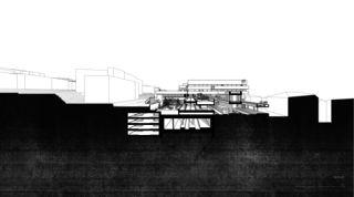 LOC_SCHNITT03 Bahnhof Locarno - Kongresszentrum | Museum | Markt von