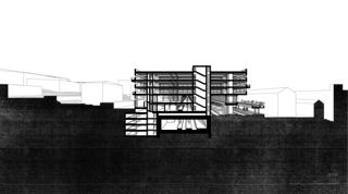 LOC_SCHNITT04 Bahnhof Locarno - Kongresszentrum | Museum | Markt von
