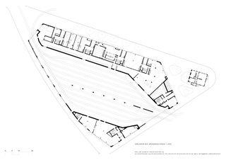 Rez de chaussée Kalkbreite de Müller Sigrist Architekten AG