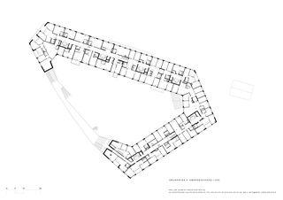 Quatrième étage Kalkbreite de Müller Sigrist Architekten AG