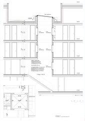 Plan détaillé de Puits de lumière Kalkbreite de Müller Sigrist Architekten AG