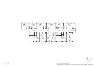Cluster: Les petits appartements avec salon commun Kalkbreite de Müller Sigrist Architekten AG