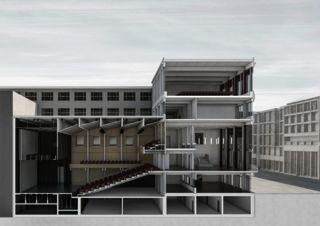 Detailschnitt Bührle - Stadttheater von