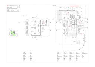 Piante piano terra - piano cantina Progetto 100 von Studio Architettura