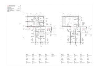 Piante primo piano - secondo piano Progetto 100 von Studio Architettura
