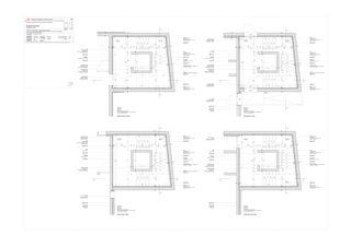 Plan cage d'escalier Progetto 100 von Studio Architettura