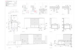 Plan de détail de garage Progetto 100 von Studio Architettura