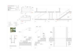 Détail d'escalier de duplex Progetto 100 von Studio Architettura