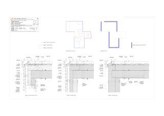 Détail de toit Progetto 100 von Studio Architettura