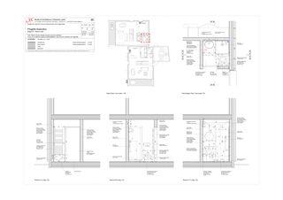 Salle de bain PT - maison nord Progetto 100 von Studio Architettura