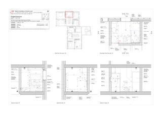 Salle de bain P1 - maison nord Progetto 100 von Studio Architettura