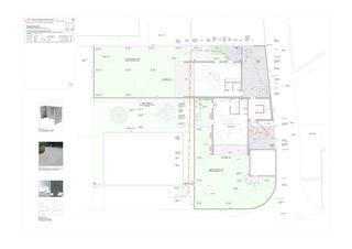 Environnement - plan du rez-de-chaussée Progetto 100 von Studio Architettura