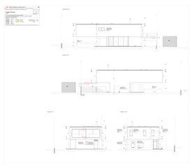 Facciate Progetto Cuvée de Studio Architettura
